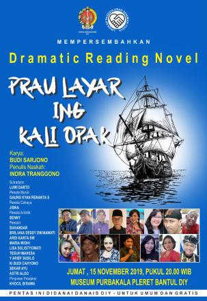 PRAU LAYAR ING KALI OPAK; dramatic reading novel